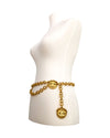Chanel Vintage Rare Gold XL Logo Belt/Necklace