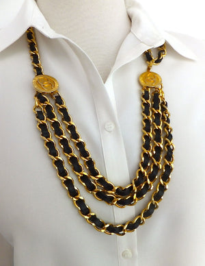 Authentic Chanel Vintage Medallion Necklace/Belt