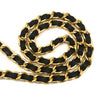 Chanel Vintage Black Lambskin Medium Classic Double Flap Bag