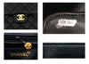 Chanel Vintage Black Caviar Single Flap Jumbo