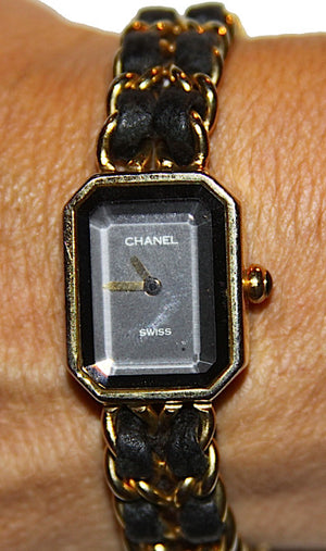 Authentic Chanel Gold Plated Quartz Watch