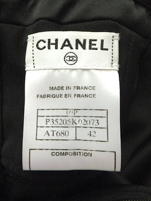 Authentic Chanel '09 Classic Bow Cocktail Dress Sz 42