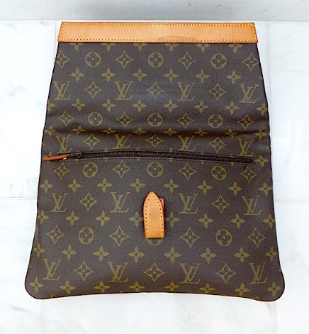 Authentic Louis Vuitton Monogram XL Envelope Clutch