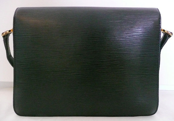 Authentic Louis Vuitton Epi 'Green Eye' Ultra Mod Handbag