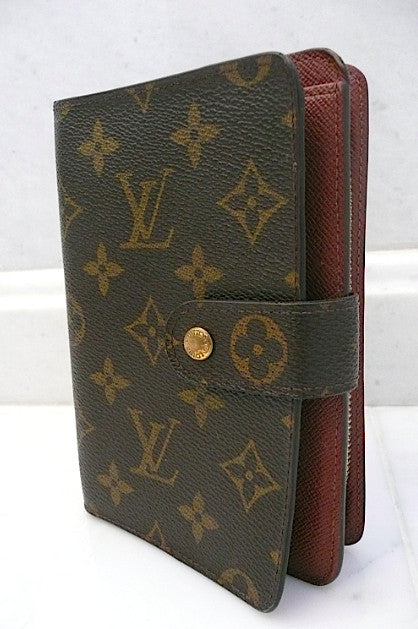 Authentic Louis Vuitton Large Compact Zippe Monogram Wallet