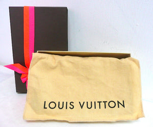 Authentic NEW in Box Louis Vuitton Sarah Vernis Blue Wallet