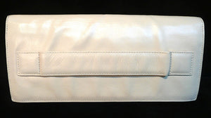 Authentic Chanel ONE OF A KIND HAUTE COUTURE RUNWAY Bone Keyboard Clutch