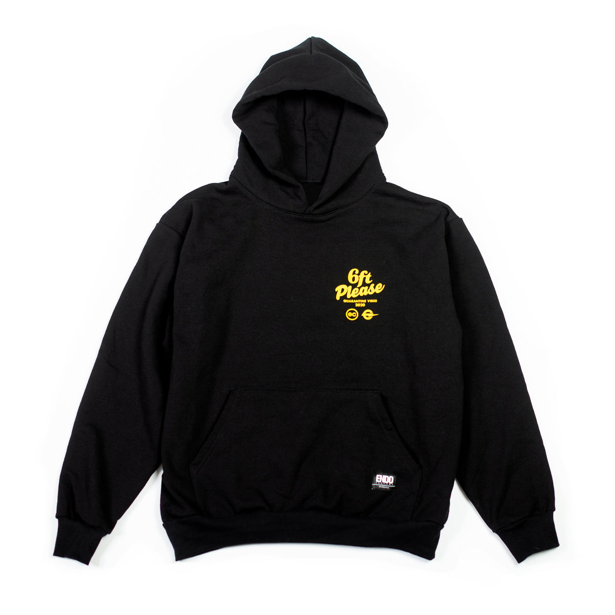 6FT PLEASE - HOODIE - BLACK