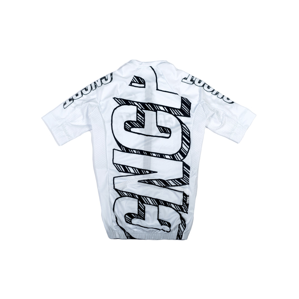 CNCPT x NOT CHAS - LADERA JERSEY - WHITE