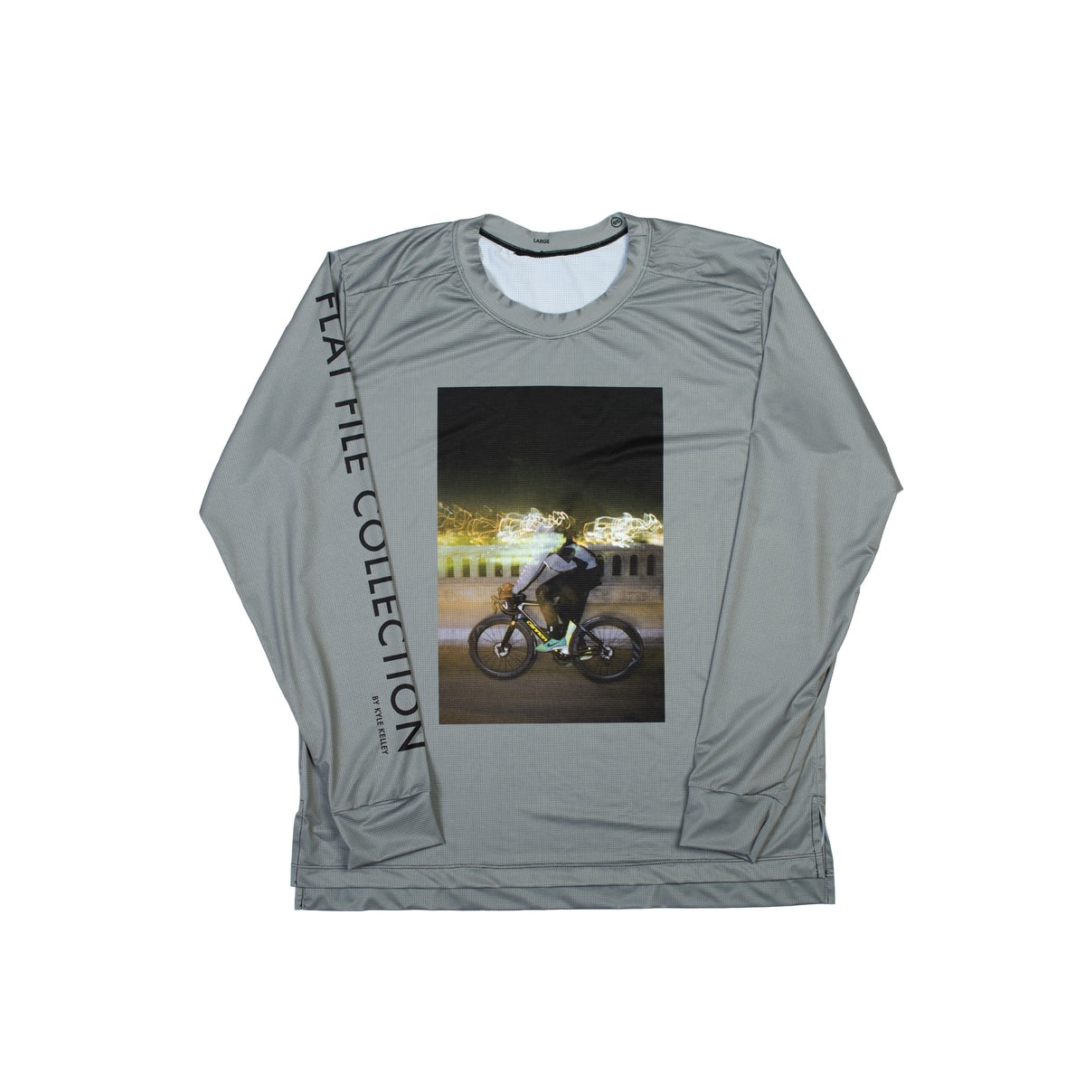 FLAT FILE - VIRGIL LONG SLEEVE TECH TEE - FREE YOUR MIND
