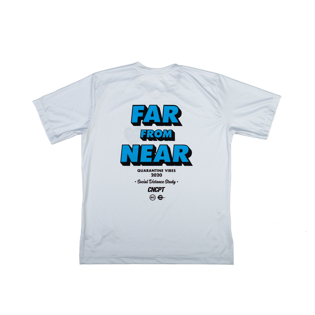 NEAR FROM FAR - VIRGIL SHORT SLEEVE TECH TEE - OFF WHITE