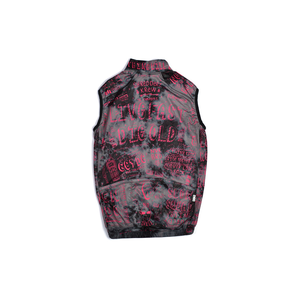 NOT CHAS - AMESBURY VEST - CRYSTAL DYE