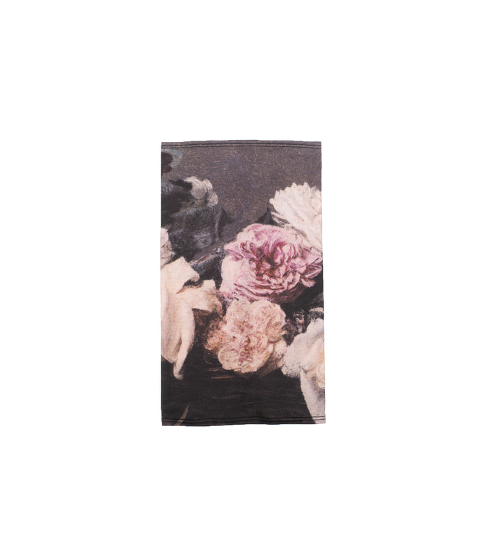 TEAM TOO LATE - NECK GAITER - FLOWERS