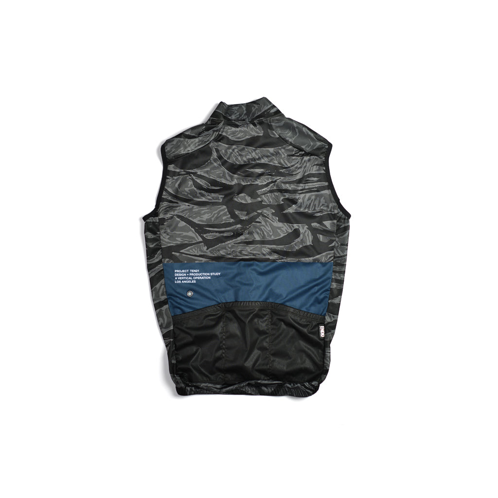 TEN21 - AMESBURY VEST - GREY TIGER CAMO