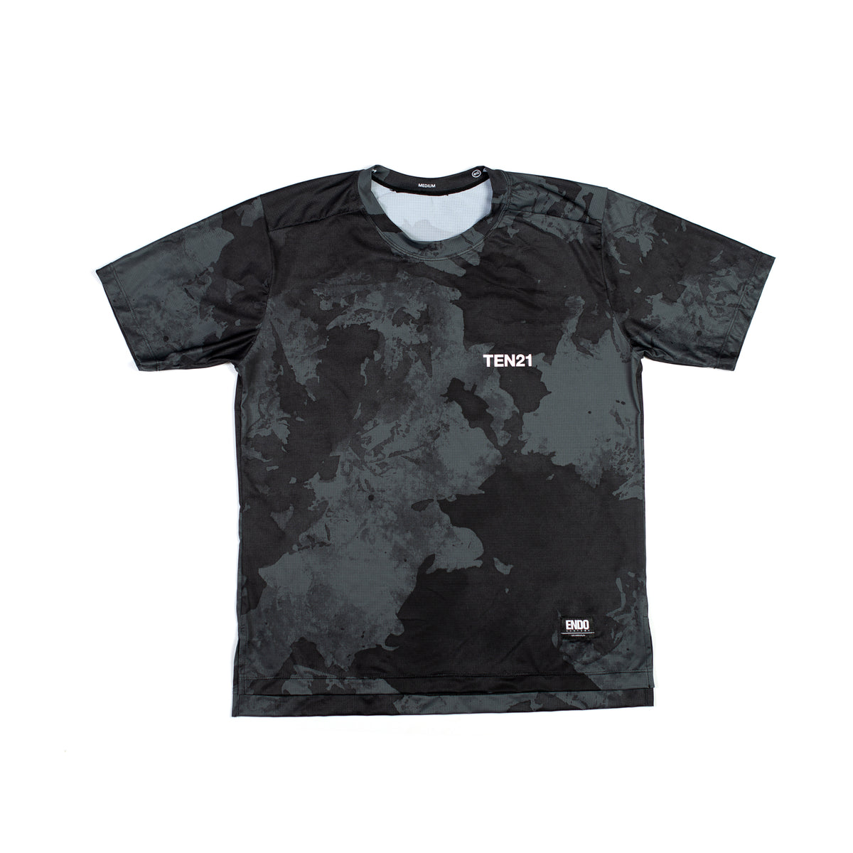 CONCRETE - VIRGIL SHORT SLEEVE TECH TEE - DARK