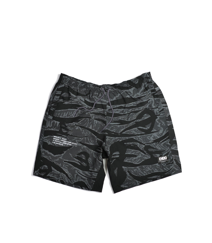 TEN21 - HIGUERA SHORT - GREY TIGER CAMO