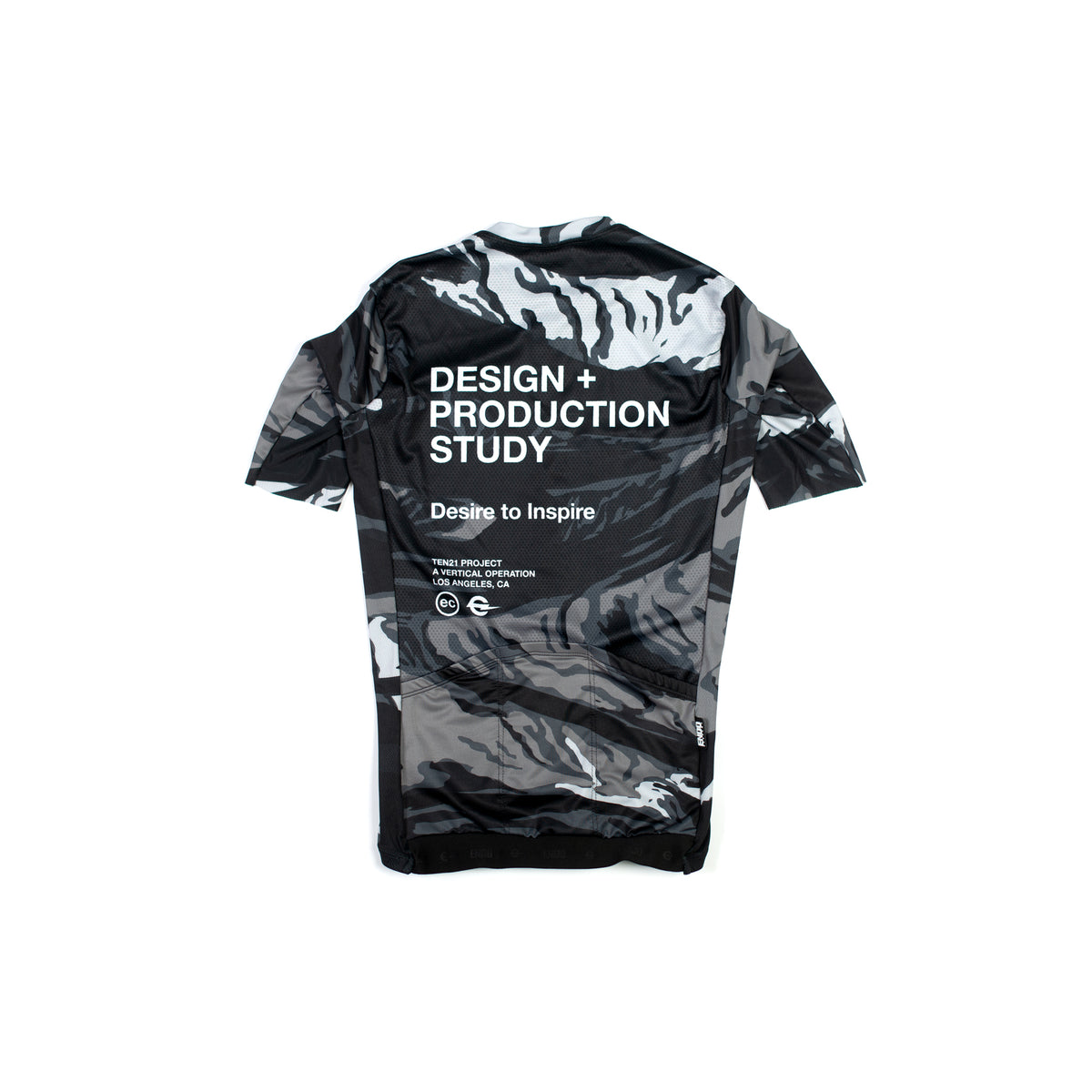 TEN21 - LADERA 2.0 JERSEY - GREY CAMO