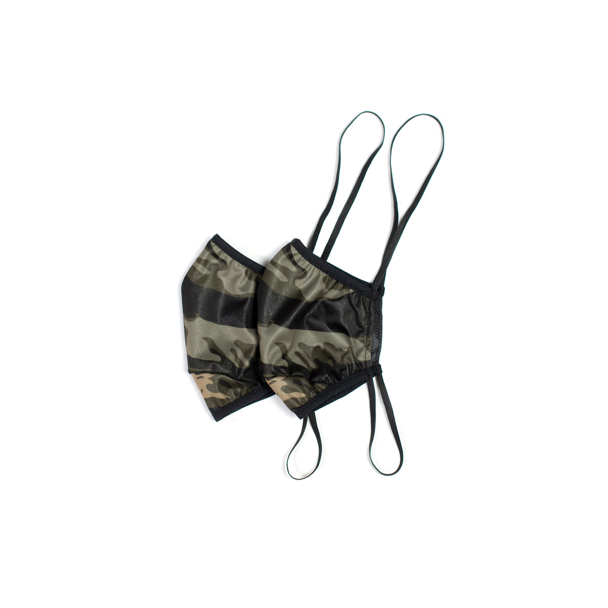 MAG CAMO - 3 LAYER MASK - GREEN (2 PACK)