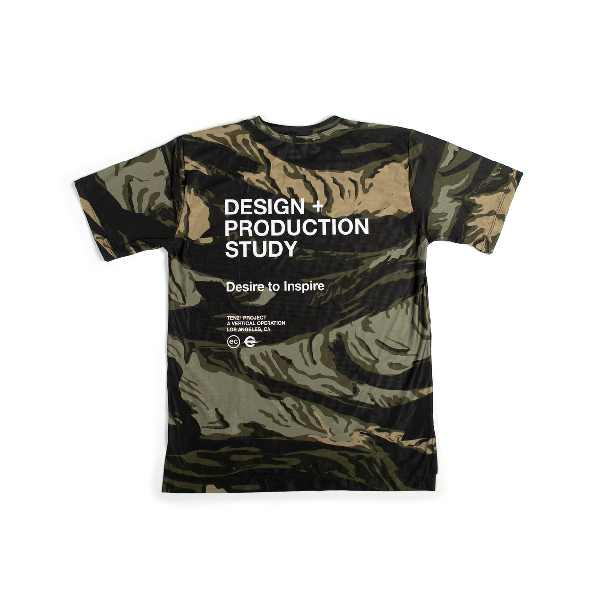 MAG CAMO - VIRGIL SHORT SLEEVE TECH TEE - GREEN