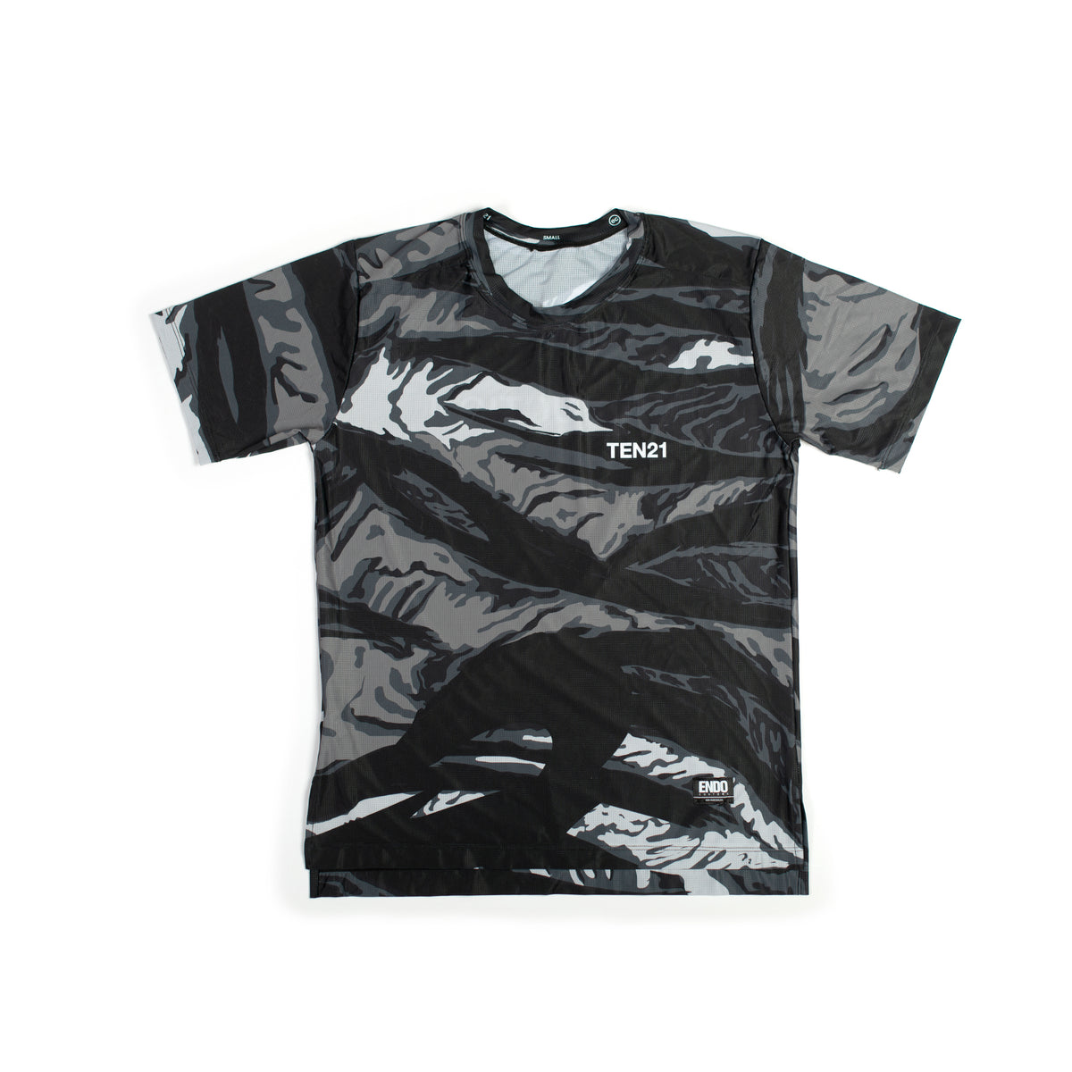 MAG CAMO - VIRGIL SHORT SLEEVE TECH TEE - GREY