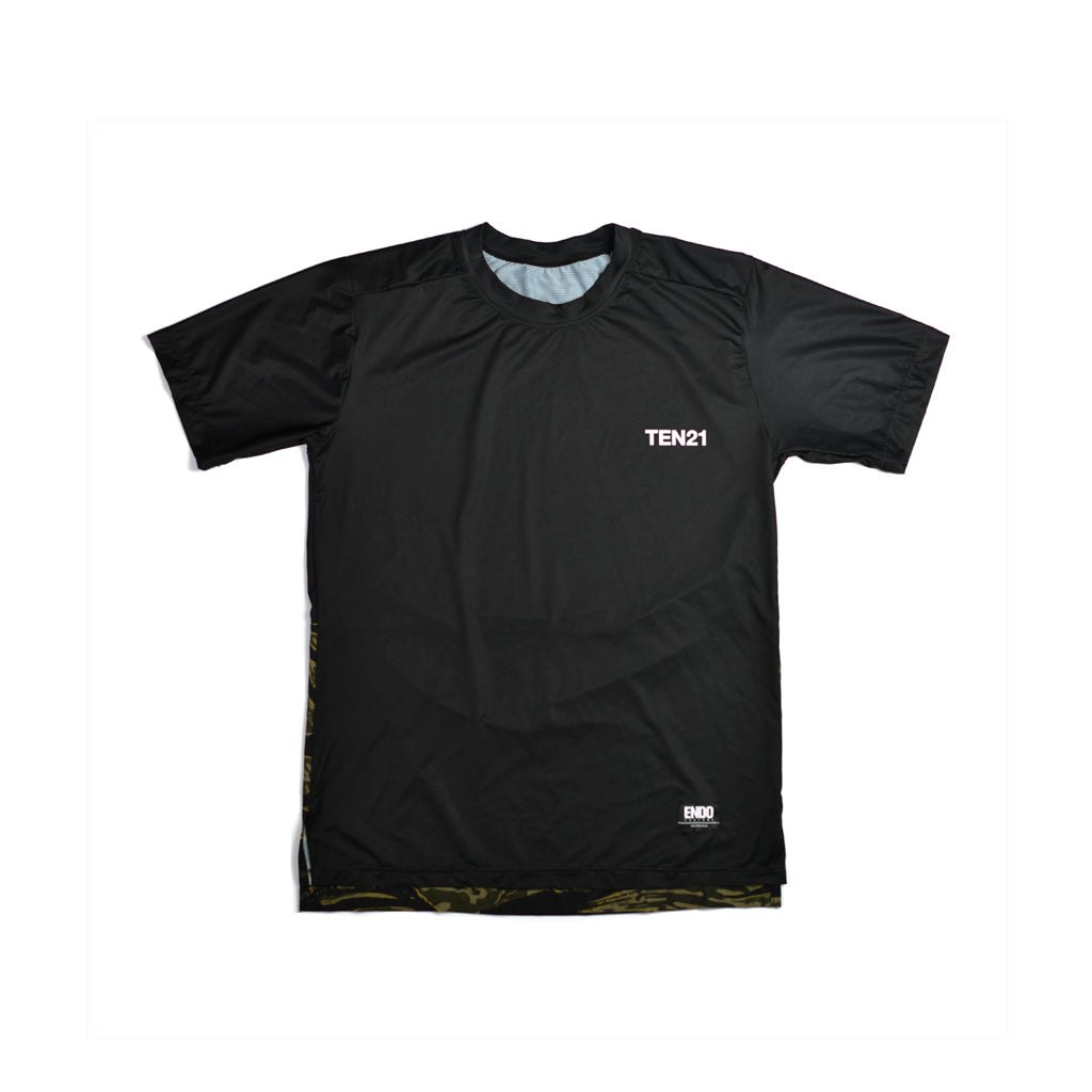TEN21 - VIRGIL TECH TEE - BLACK