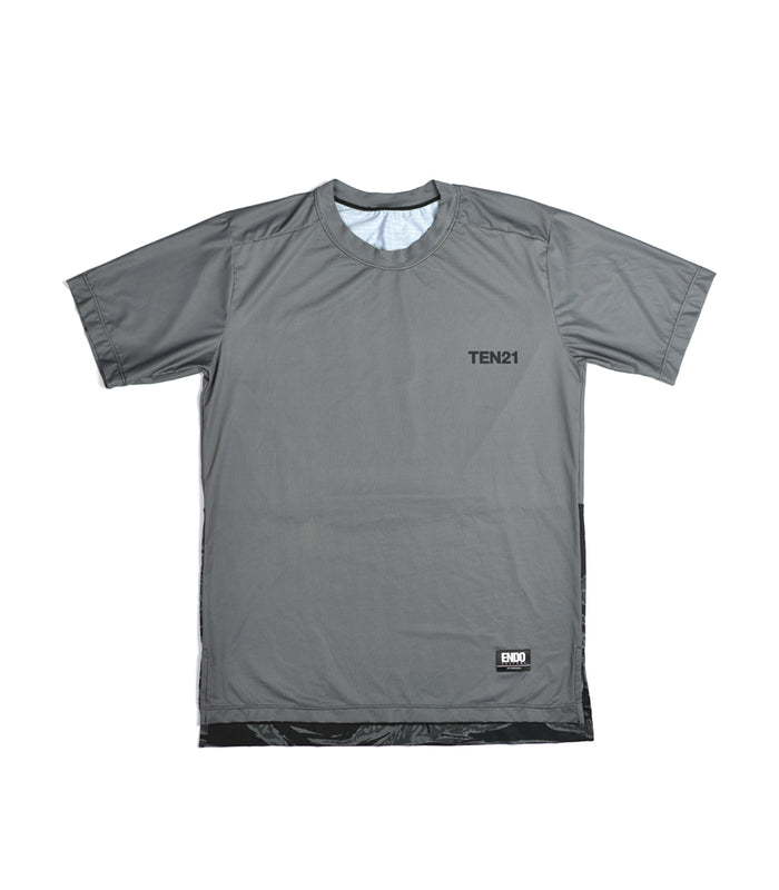 TEN21 - VIRGIL TECH TEE - GREY