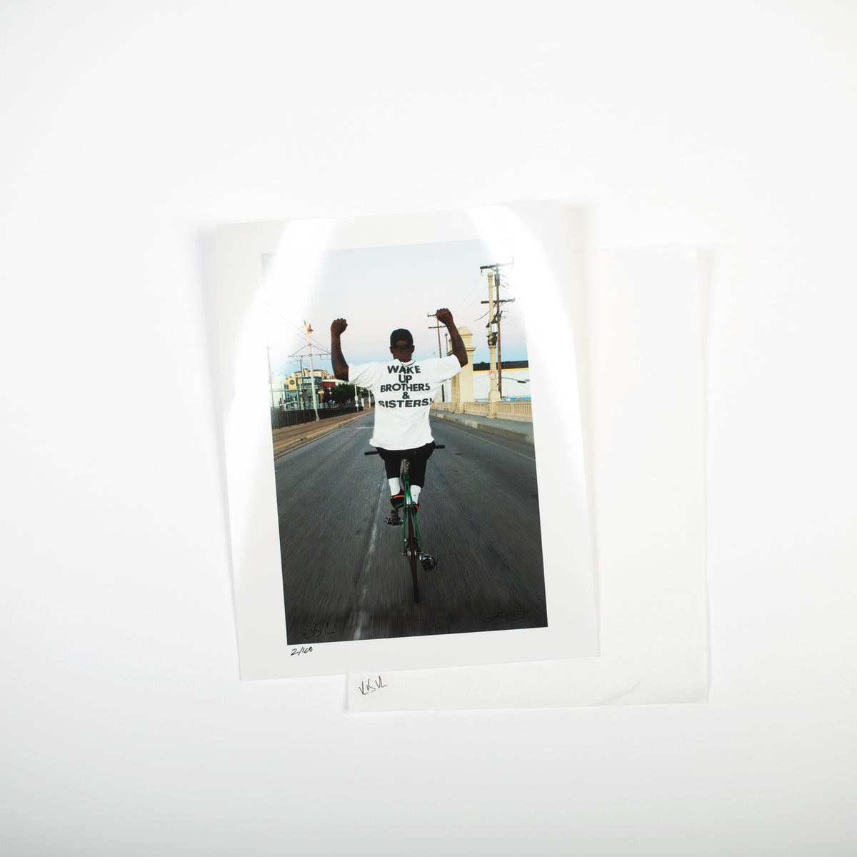 WAKE UP! - LIMITED PRINT + VIRGIL LONG SLEEVE TECH TEE