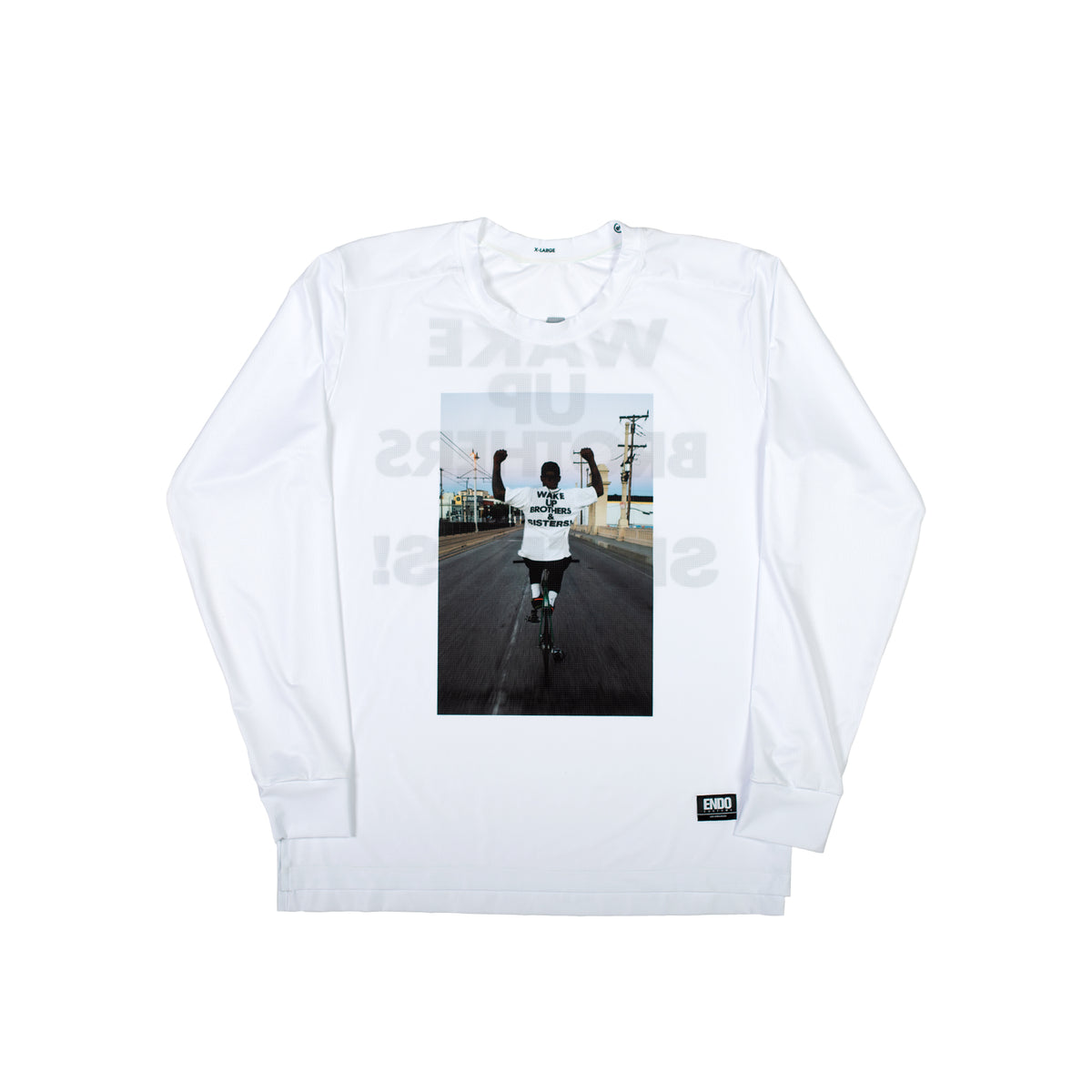WAKE UP! - VIRGIL LONG SLEEVE TECH TEE