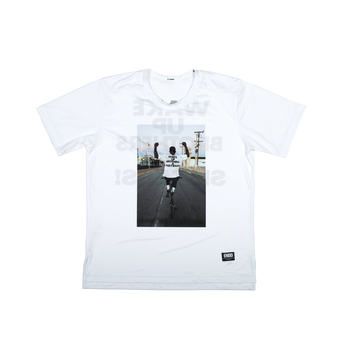 WAKE UP! - LIMITED PRINT + VIRGIL SHORT SLEEVE TECH TEE