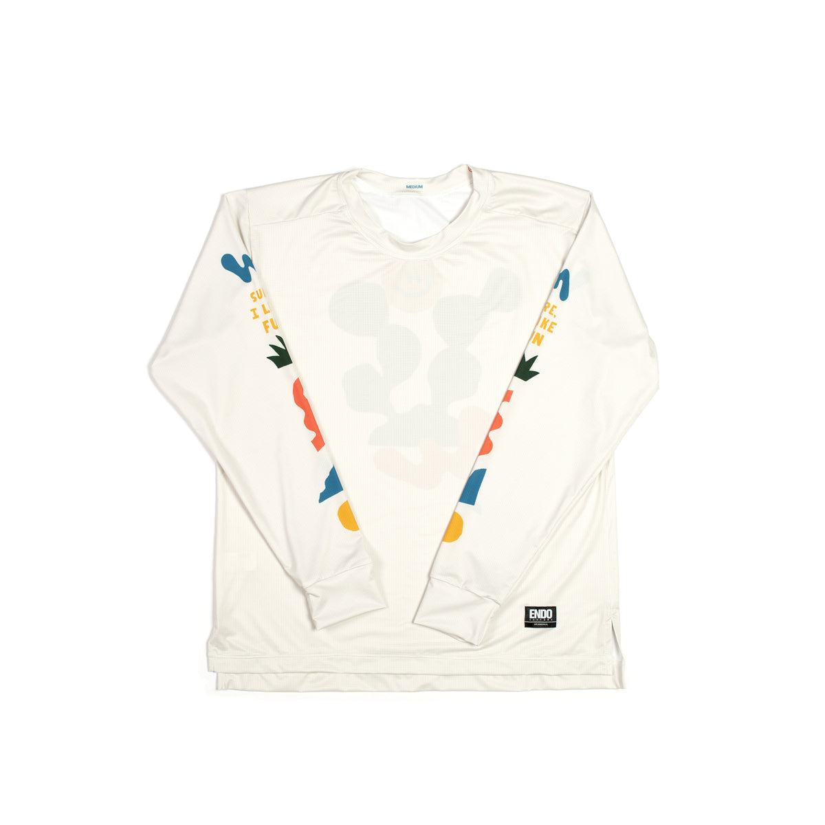 WILL BRYANT - VIRGIL LONG SLEEVE TECH TEE -CREAM