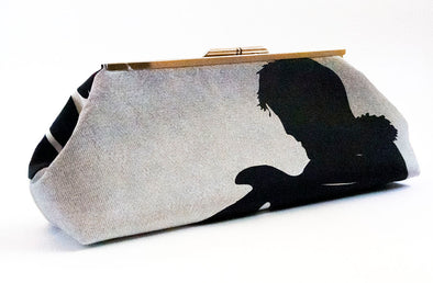 Shadow Clutch (Black/White)