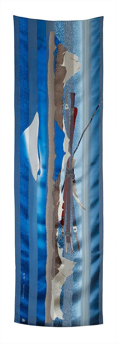 Ice Float Rectangular Scarf (Ice)