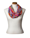 Enchanted Birds Infinity Scarf (Flame)