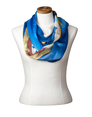 Ice Float Infinity Scarf
