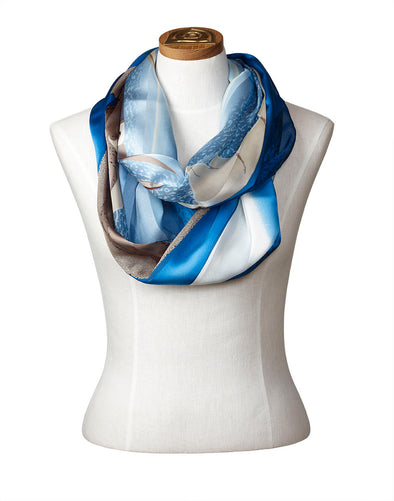 Ice Float Infinity Scarf (Ice)