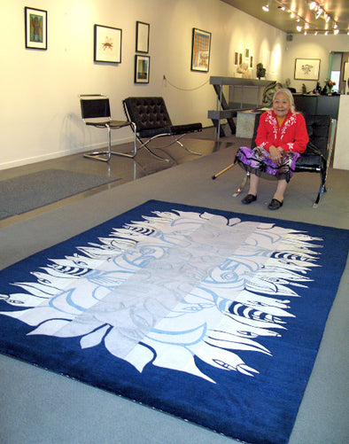 Shaman Celebration Carpet, 1 of 8 (Blue)