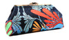 Nesting Bird Clutch -  Bright Blk.front view