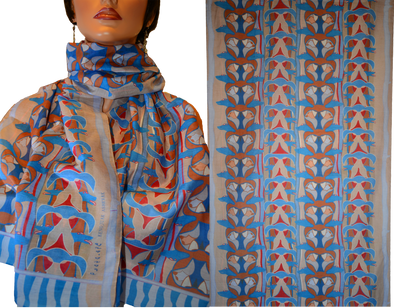 Totem Rectangular Scarf (Wind)