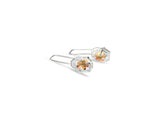 Prong set imperial topaz dangle earring. pattieparkhurst