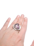 Stunning Amethyst Adjustable Ring pattieparkhurst