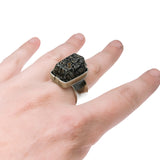 Gem Quality Dinosaur bone Ring pattieparkhurst