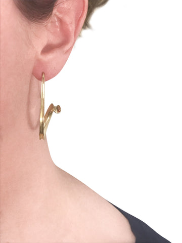 Shofar Anticlastic earrings pattieparkhurst