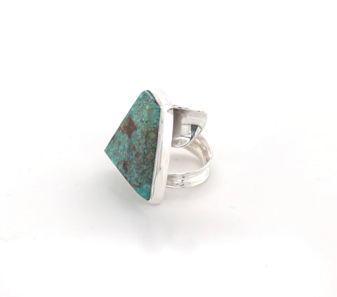 Elegant Kingman Turquoise ring pattieparkhurst