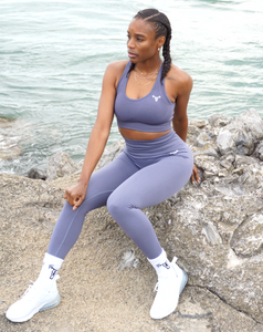 Iconic Seamless Sports Bra Grey