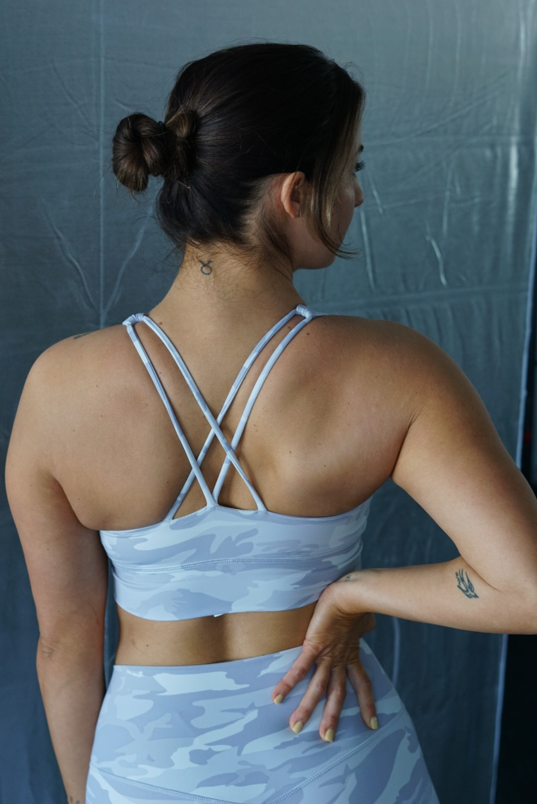 Pre-Order: Limitless Sports Bra Camouflage