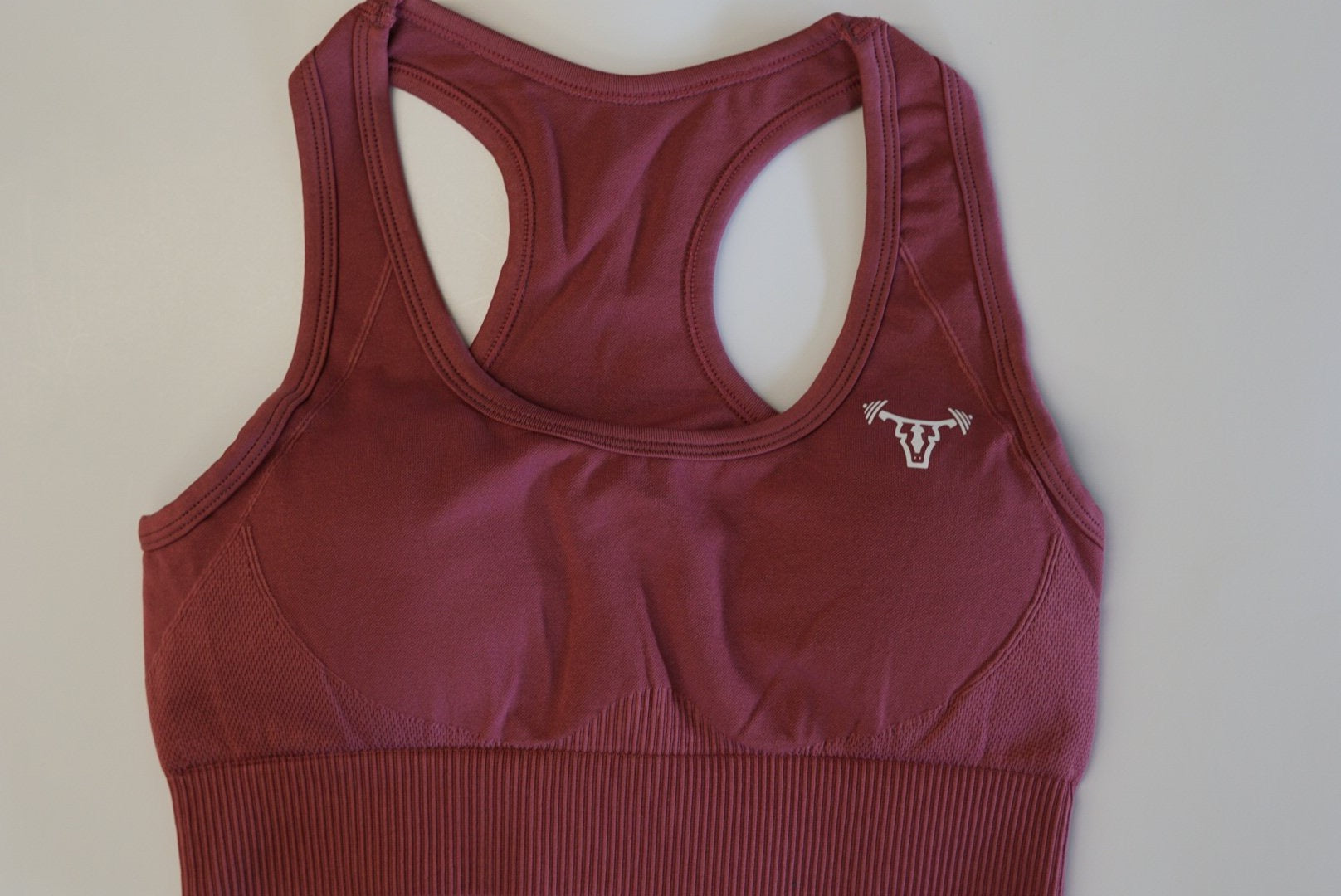 Iconic Seamless Sports Bra Rose