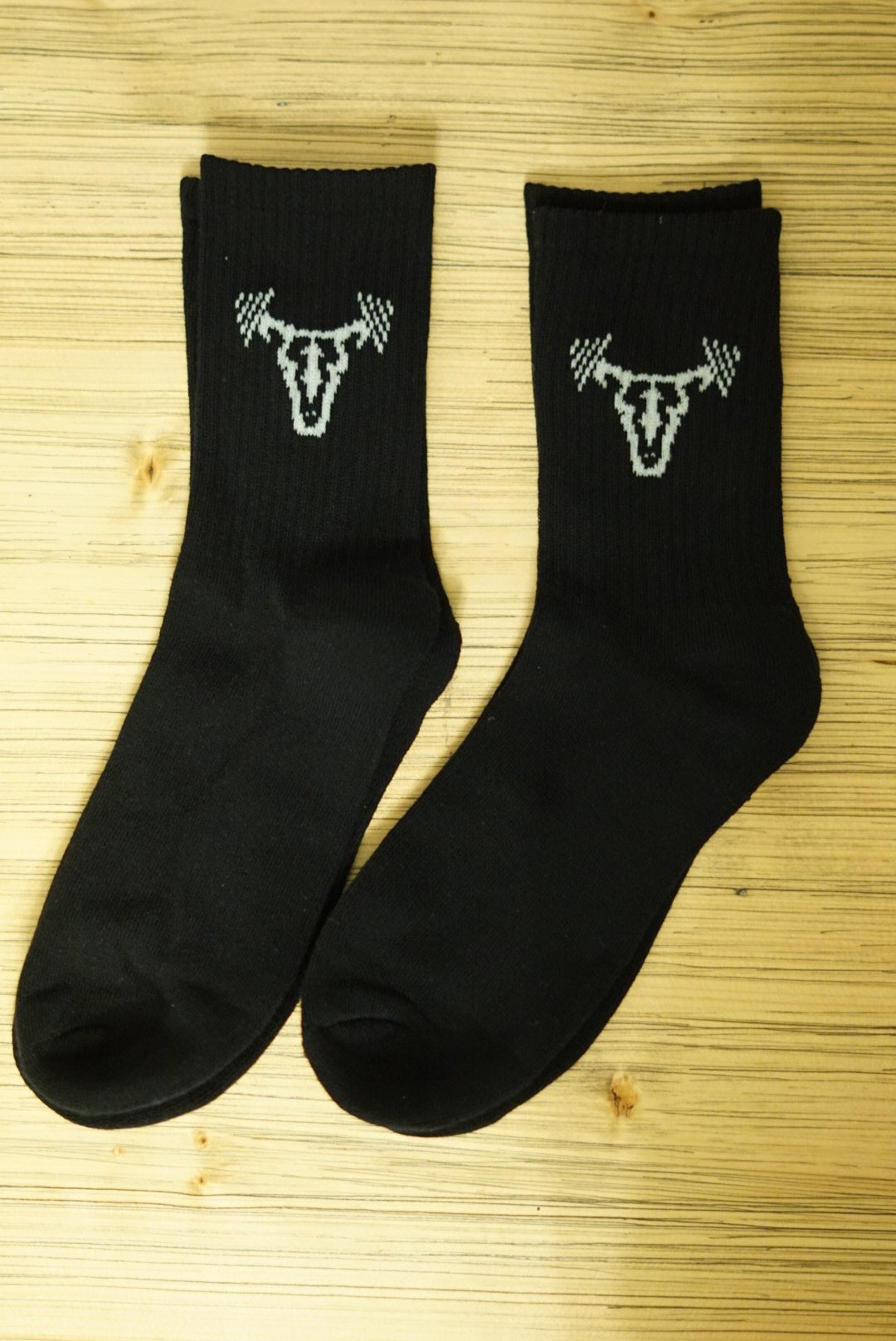 Iconic Black Socks (2 Pair)
