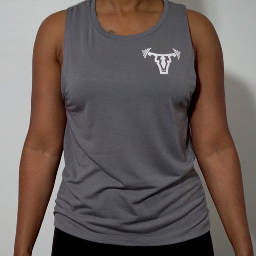 Iconic Women's Tank- Storm Grey