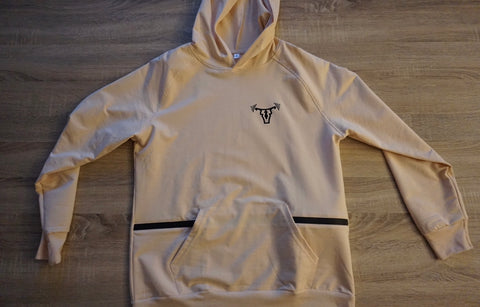Men's Performance Hoodie Tan