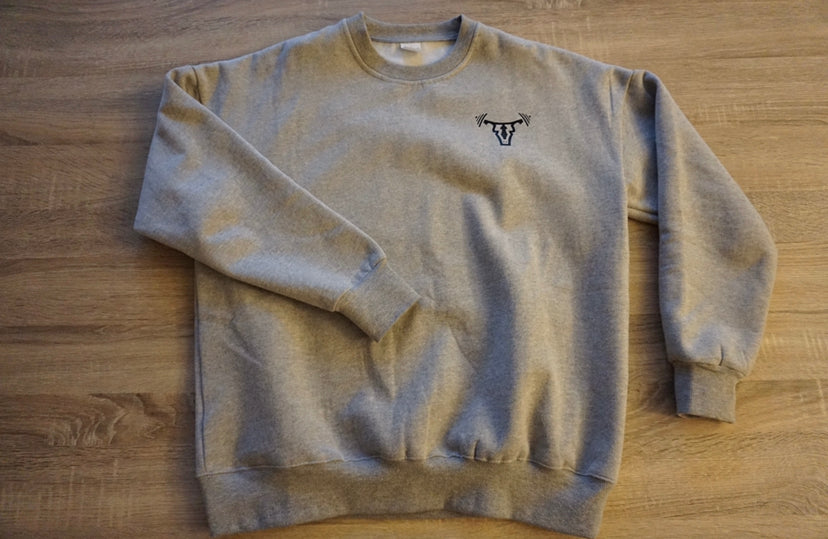 Unisex Crew Neck Sweatshirt Grey